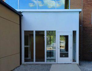 Glass Vestibule