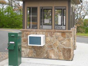 Guard House with HVAC