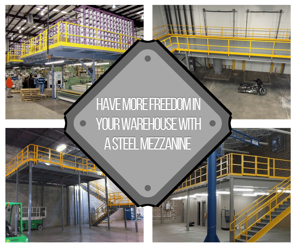 Have More Freedom in your Warehouse with a Steel Mezzanine (1)