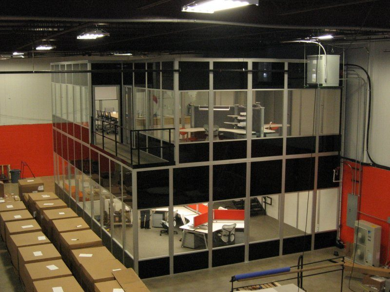 Modular Offices And Inplant Offices Panel Built