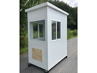 4'x6' White Guard Booth