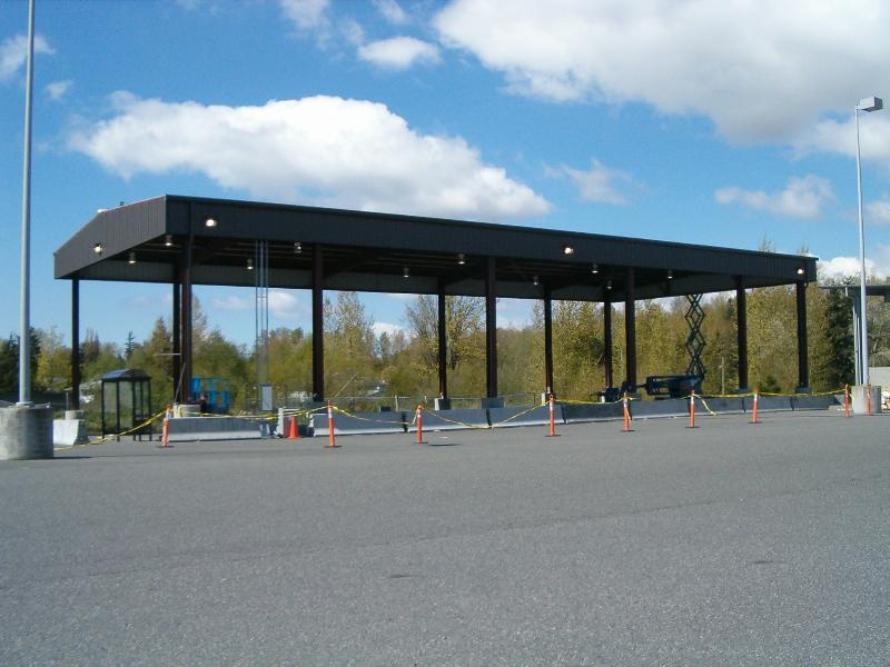 Industrial Carport
