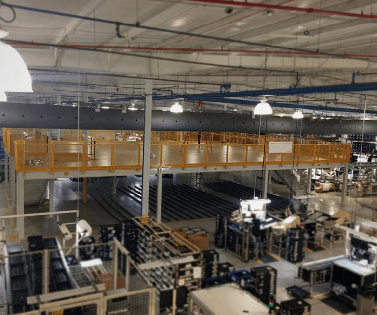 Industrial Storage Mezzanine