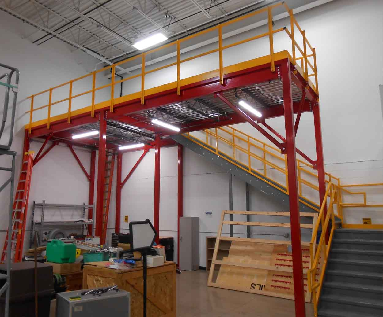 The Cost of Building a Mezzanine - Storage Solutions