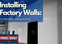 Installing Factory Walls