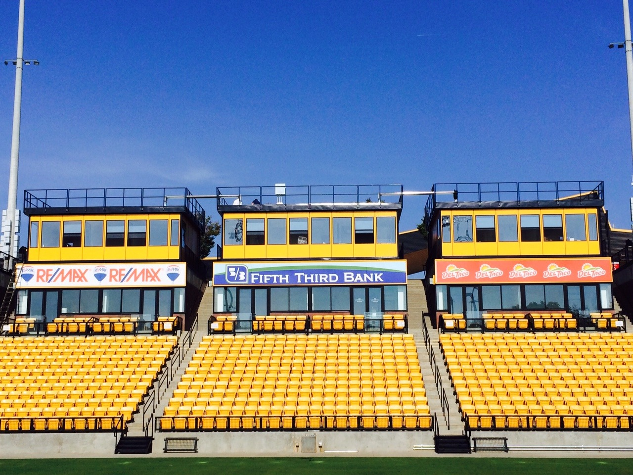Prefabricated Press Box
