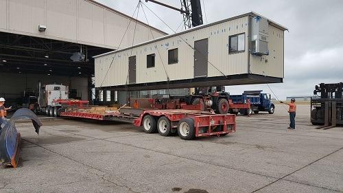 mobile steel building