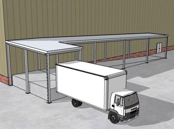 Loading Dock Canopy (3)