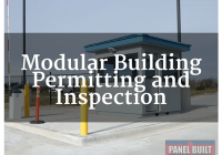 MODULAR PERMITTING AND INSPECTION