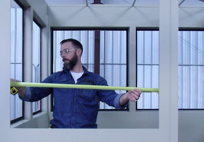 Measuring Window Frame