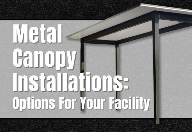 Metal Canopy Installations