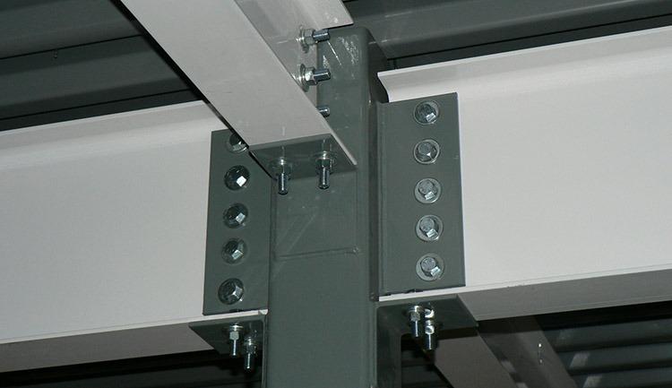 Mezzanine-Beam-Connection