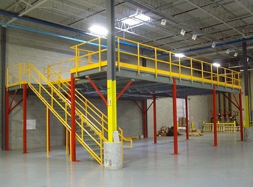 Steel Mezzanines And Work Platforms Panel Built
