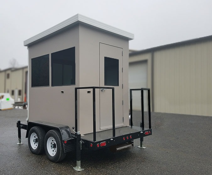 Mobile Military Booth