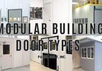 Modular Building Door Types