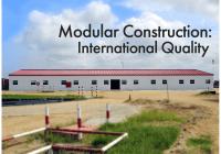 Modular Construction International Quality