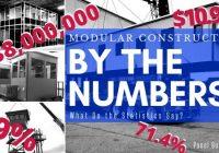 Modular Construction Numbers Statistics (1)
