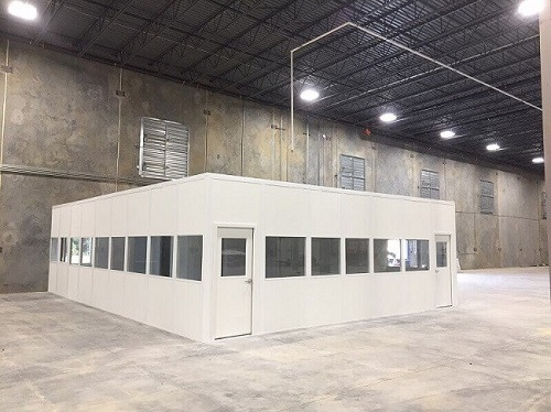 Modular Offices | Inplant Office | Warehouse Offices | Panel Built
