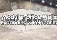 Modular Office Walls