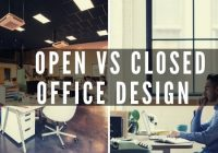 Open office vs closed office