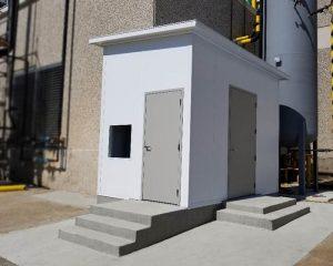Outdoor-Equipment Enclosure