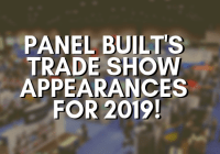Panel Built's Trade Show Appearances for 2019!