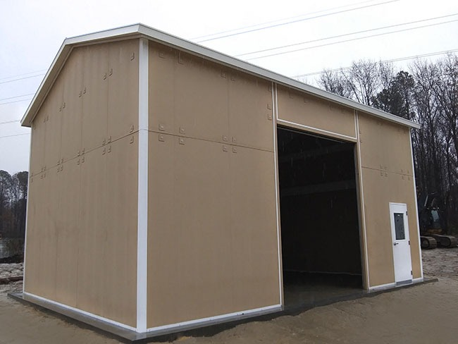 Panelized Storage Building