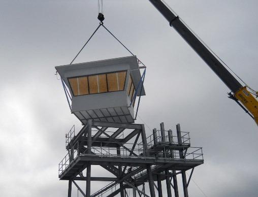 Prefabricated Range Tower