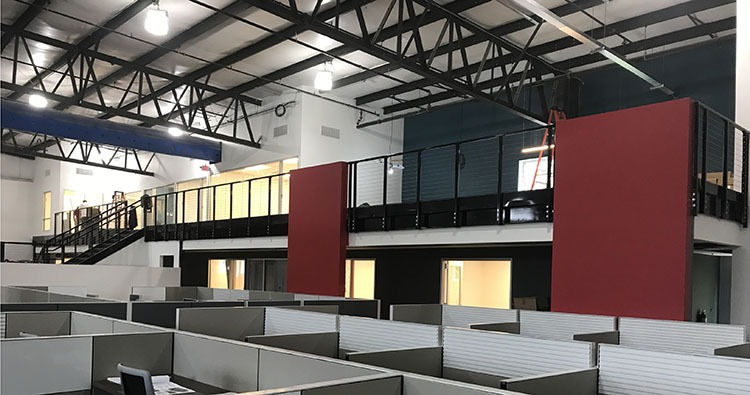 Steel Mezzanines and Work Platforms | Panel Built