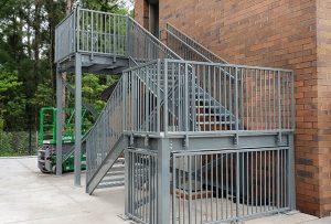 Replacing Metal Stairs