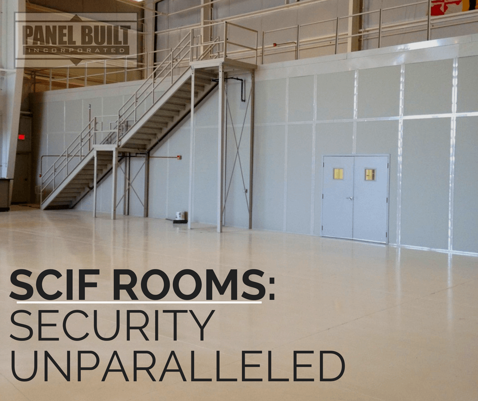 Scif Rooms Information Security Unparalleled Panel Built