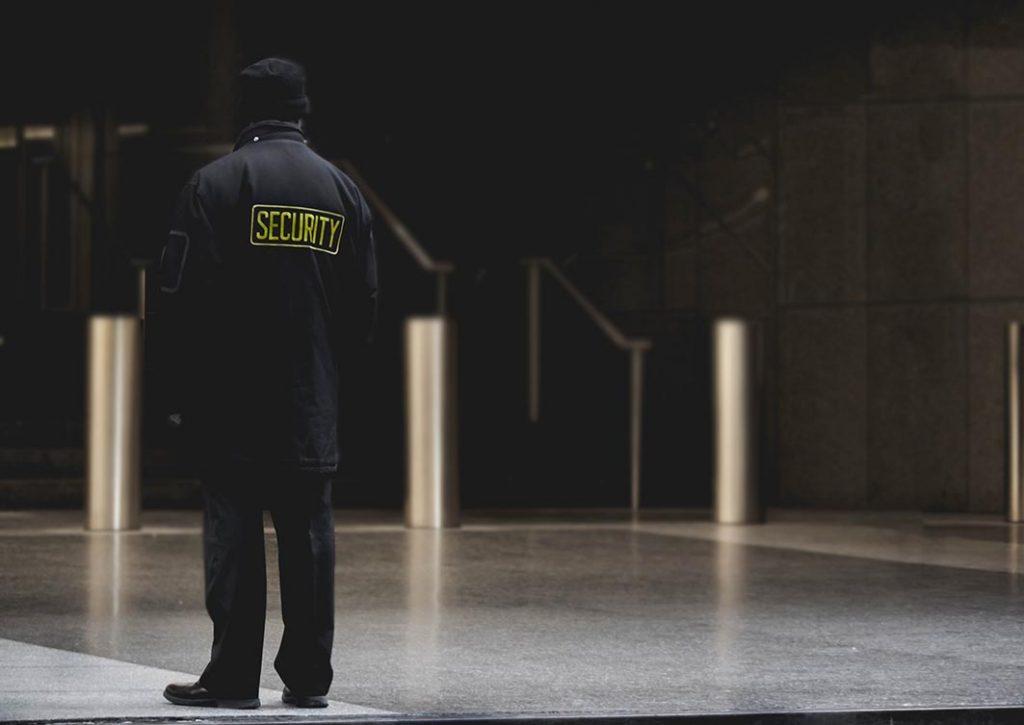 Security Guard Patrolling