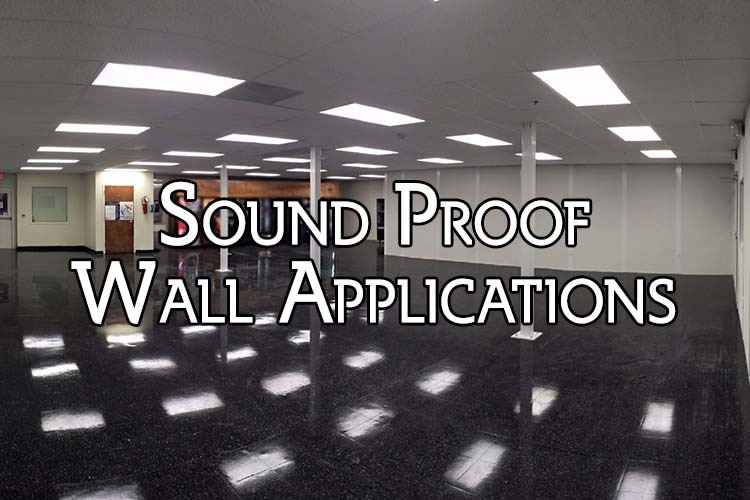 Soundproof wall panels