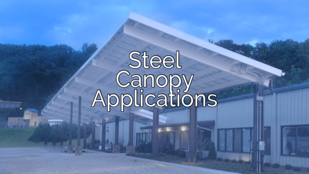 Steel Canopy Applications