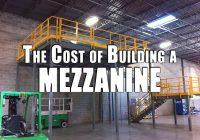 The Cost of Building a Mezzanine