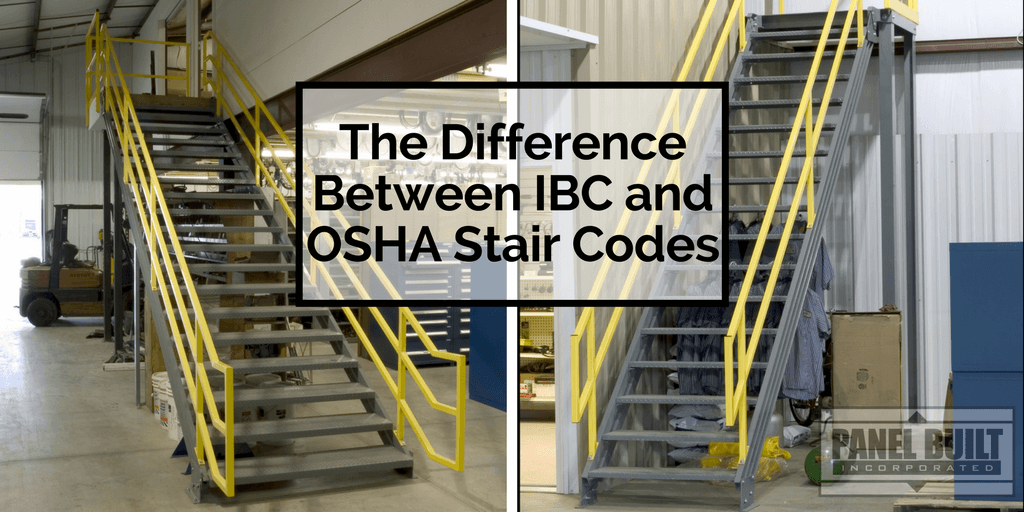 The Difference Between IBC and OSHA Stair Codes