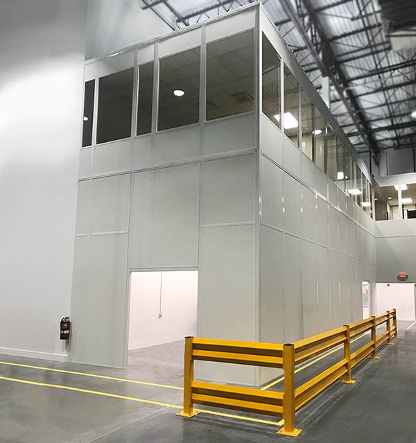 Two Story Inspection Room