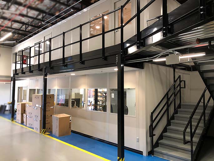 Two Story Warehouse Office
