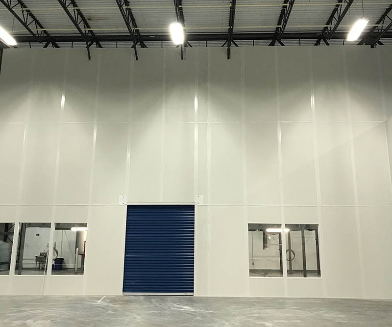 Warehouse Demising Wall