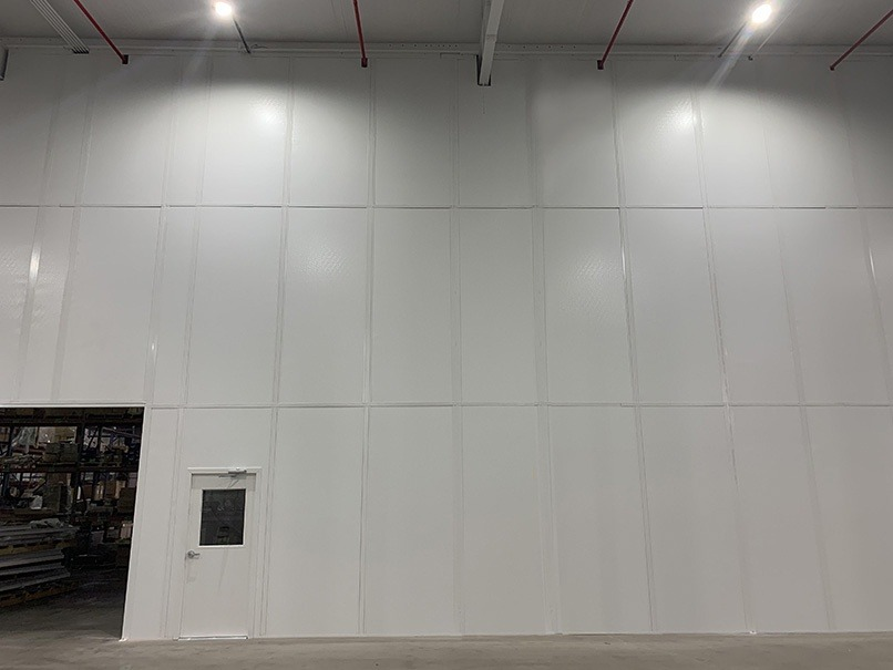 Warehouse Divider Wall