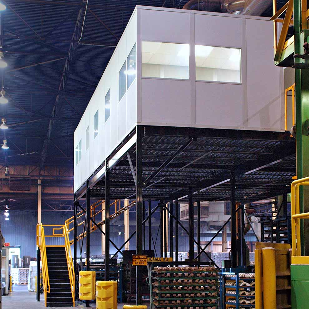 Warehouse Mezzanine Office