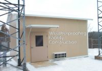 Weatherproofing Facility Construction