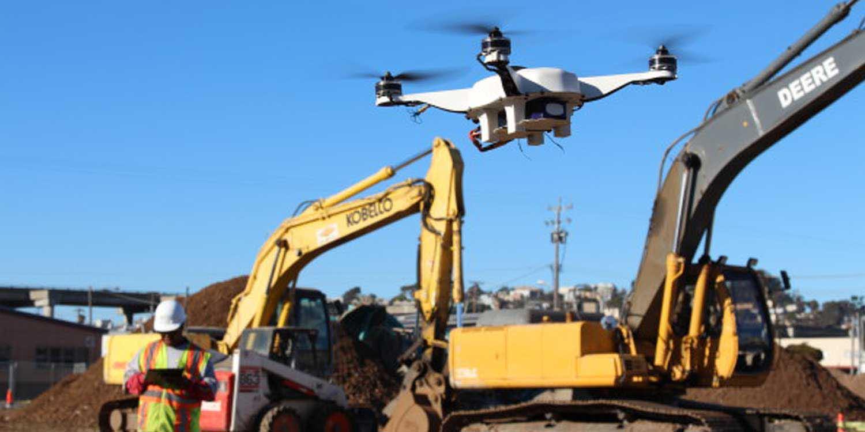 autonomous drones construction